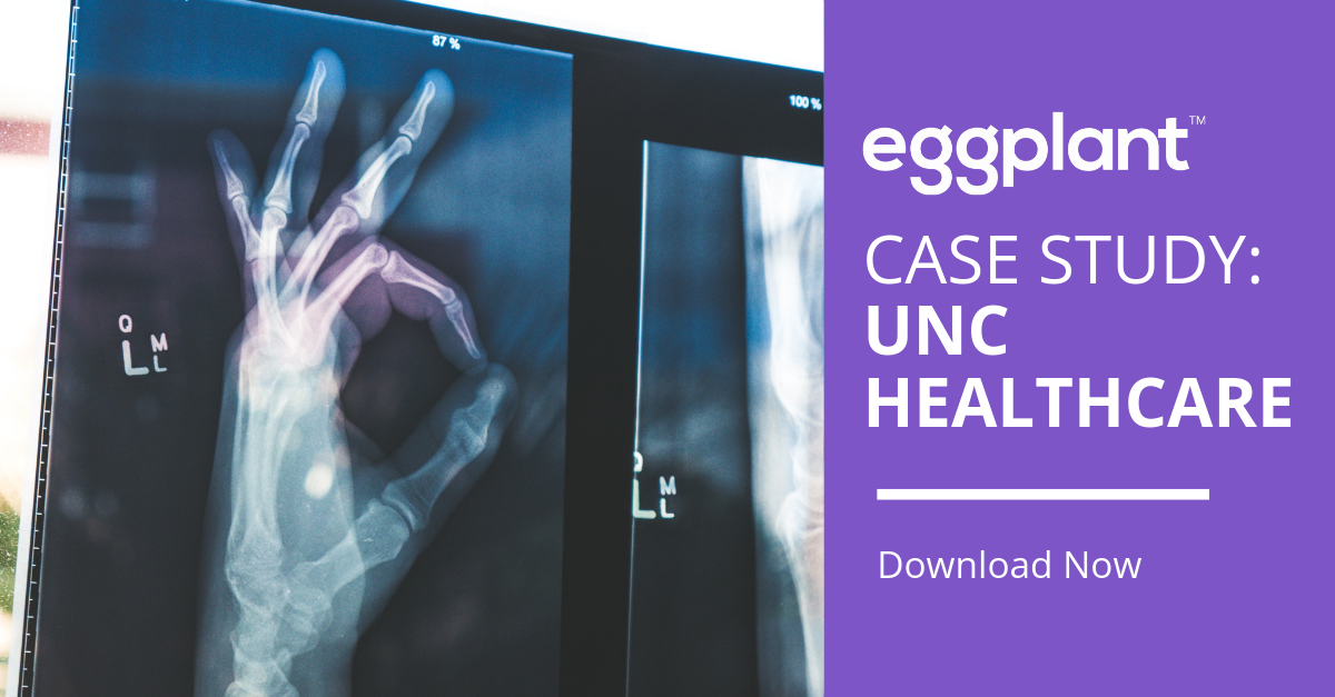 Case Study UNC Healthcare and Eggplant