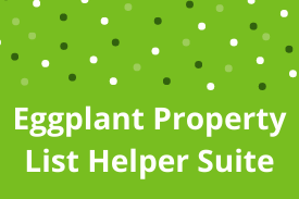 Eggplant Property List Helper Suite