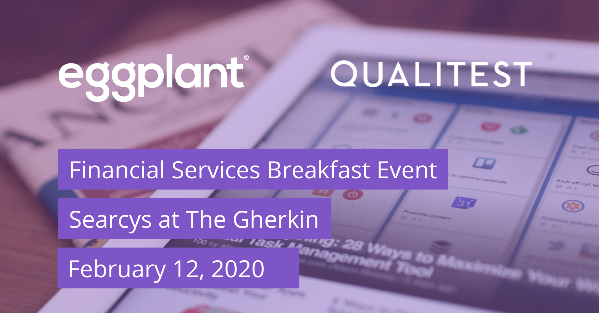 Financial Services Breakfast Event
