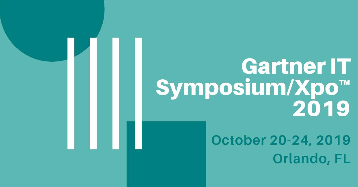 Gartner IT Symposium Xpo™ 2019