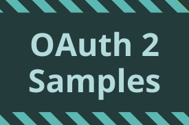 OAuth 2 Samples