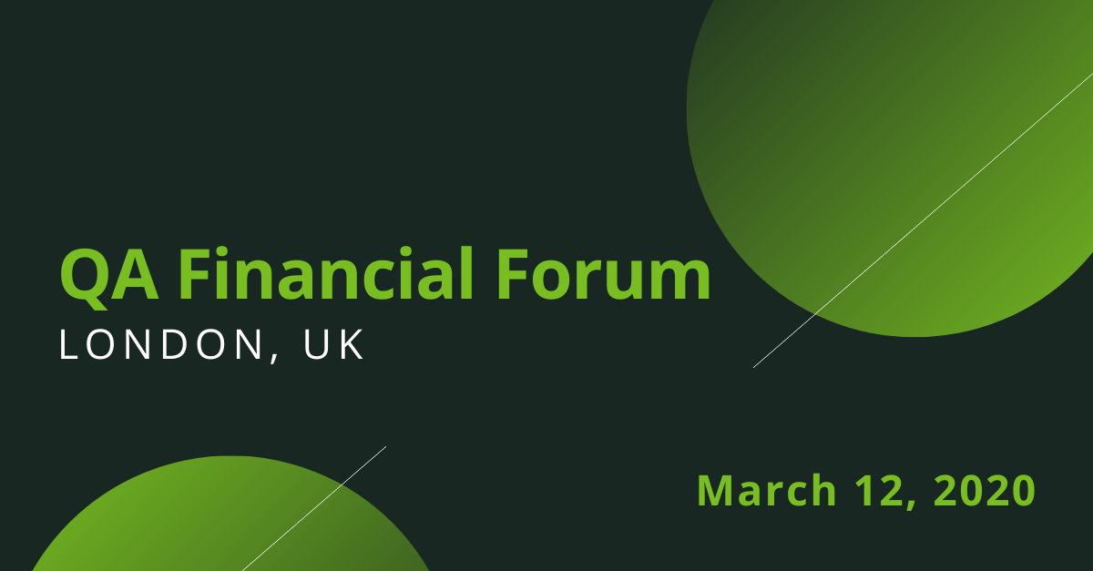 QA Financial Forum