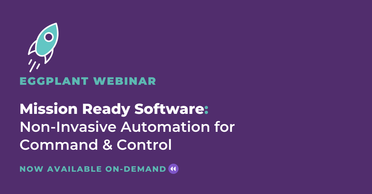 Mission Ready Software Webinar On-Demand